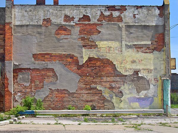Wall Photograph - Rough Wall by David Kyte
