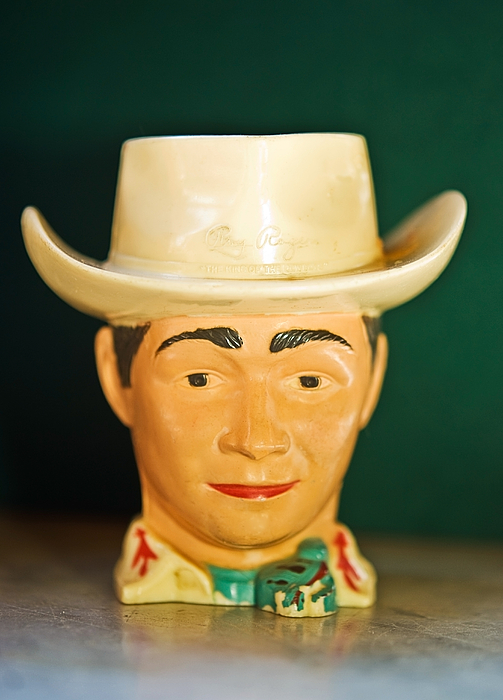 Roy Photograph - Roy Rogers Cup by Susan Leggett