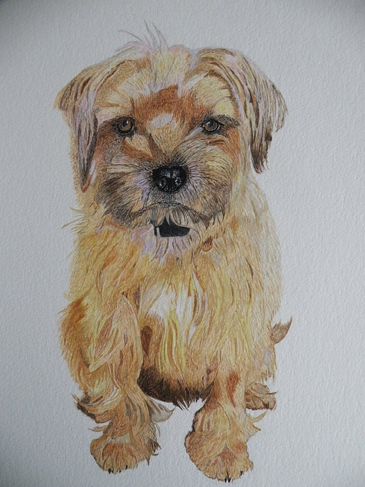 Ruby Painting by Alan Webb