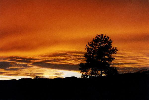 Sunset Photograph - Ruidoso Sunset by Jan Amiss Photography