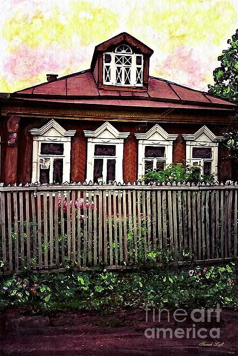 House Photograph - Russian House by Sarah Loft