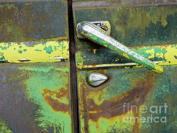Old Buses Photograph - Rusted Series 4 by Laura Atkinson