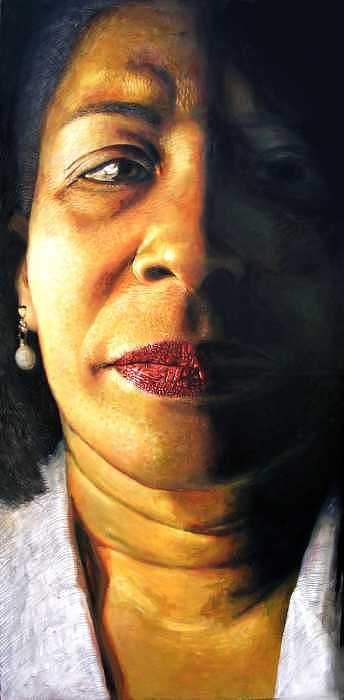 Portrait Painting - S-mother by Kamalky Laureano