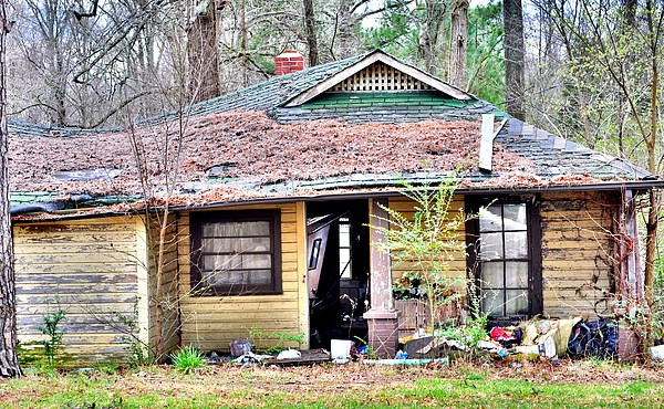 Abandoned House Photograph - Sad State Of Mind by Emily Stauring