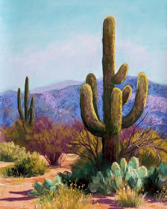 Saguaro Pastel - Saguaro by Candy Mayer