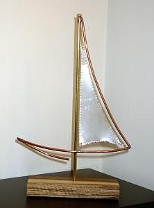 Sail Away Sculpture by Craig Richards