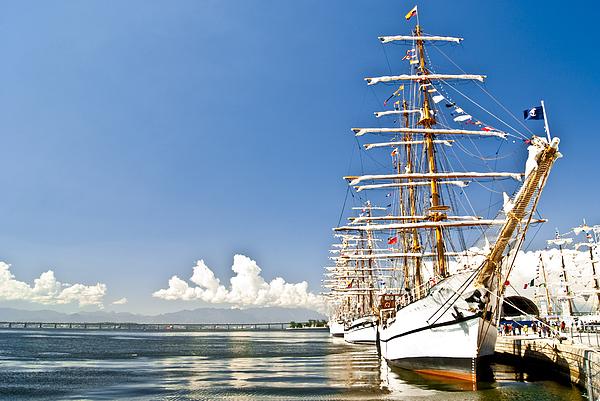 Sailboat Photograph - Sailboat In Rio by Daniel Wander
