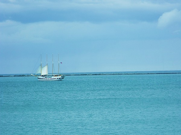 Sailboat Photograph - Sailboat Summer by Anna Villarreal Garbis