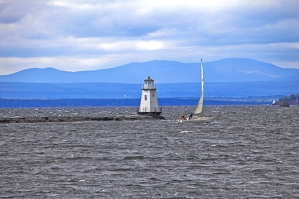 Sailing In To Open Waters Photograph by James Steele
