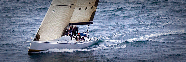 Sailing Photograph - Sailing On The Straits by Sandy Buckley
