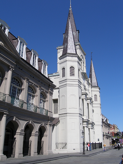 New Orleans Photograph - Saint Louis Cathederal 4 by Jack Herrington