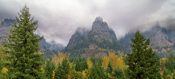Summit Photograph - Saint Peters Dome At Columbia River Gorge by David Gn