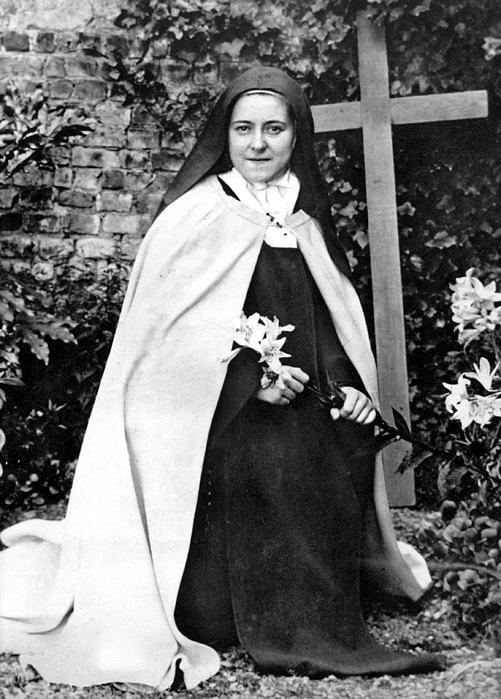 19th Century Photograph - Saint Therese De Lisieux by Granger