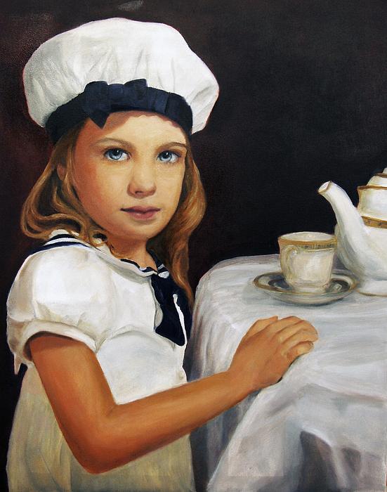 Girl Painting - Samantha by Lisa Konkol