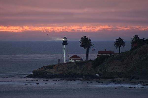 San Diego Lighthouse Photograph By Heather Coen
