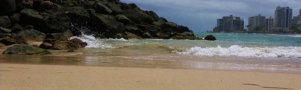 San Juan Photograph - San Juan Beach 7 by Anna Villarreal Garbis