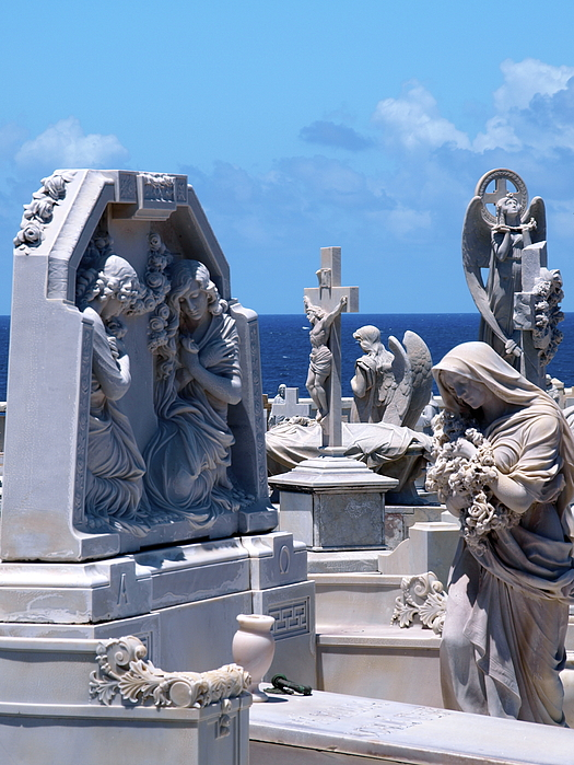 Cementary Photograph - San Juan Puerto Rico 73 by Per Lidvall