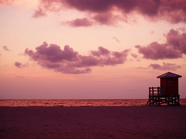 Sunset Photograph - Sand Key Sunset by Milton Brugada