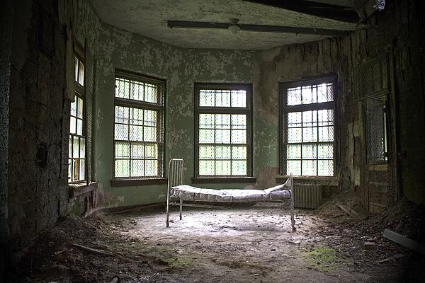 Asylum Photograph - Sanitorium by Conor McLaughlin