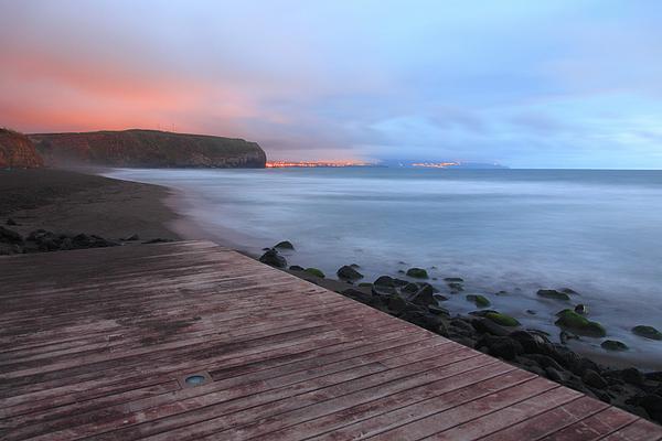 Oceanscape Photograph - Santa Barbara Beach by Gaspar Avila