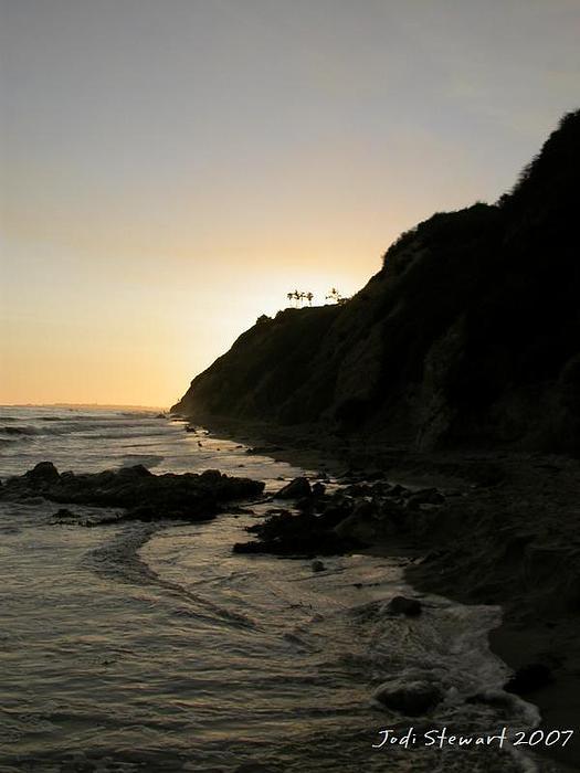 Santa Barbara Photograph - Santa Barbara Dusk by Jodi Stewart