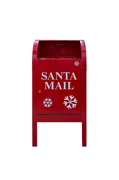Santa Red Mail Box Photograph by David Gn