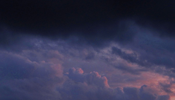 Sapphire Storm Photograph by Joshua Bales