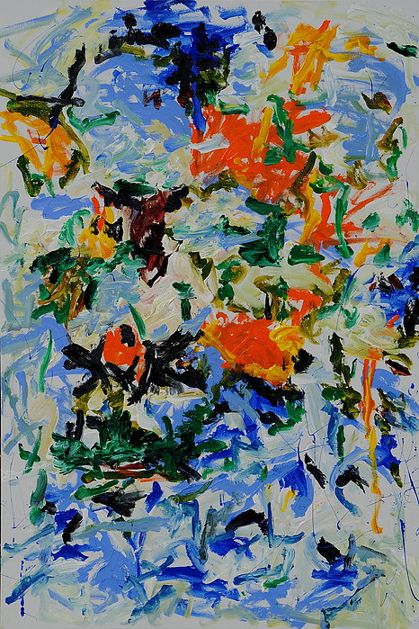 Abstract Paintings Painting - Sapphire by Wayne Salvatore