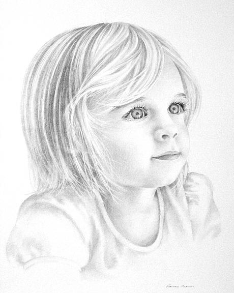 Pencil Drawing Painting - Sarah by Varvara Harmon