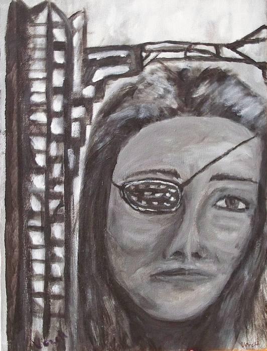 Portrait Painting - Sarajevo by Larry Verch