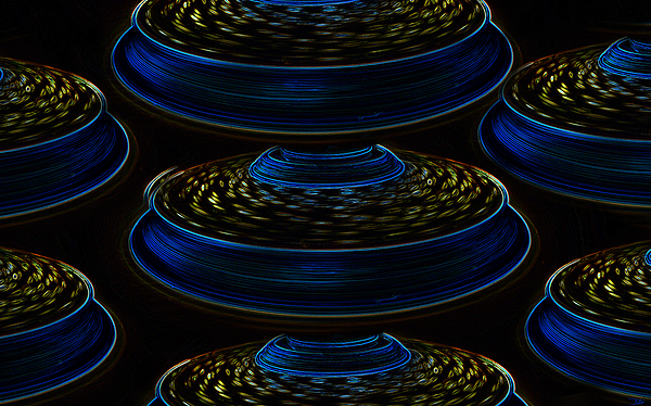 Art Painting - Saucers by David Lee Thompson