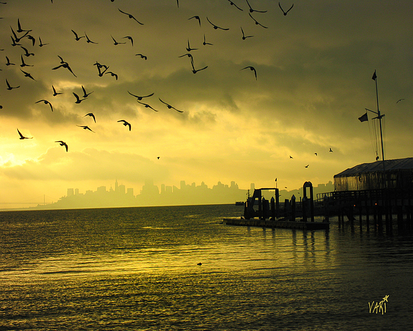 Sausalito Photograph - Sausalito Morning by Vari Buendia