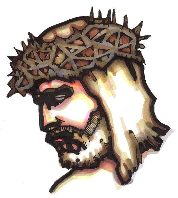 Jesus Painting - Saviour No 6 by Edward Ruth
