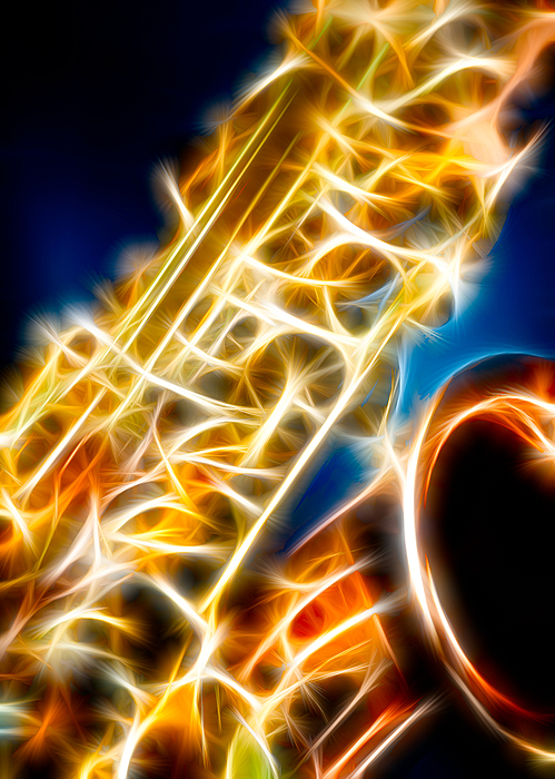 Canon Photograph - Saxophone 2 by Hakon Soreide