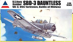 Military Painting - Sbd-3 Dauntless Model Boxtop Art by Marc Stewart
