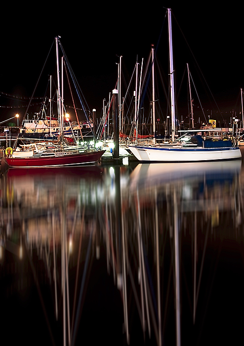 Boats Photograph - Scarborough Boats by Svetlana Sewell
