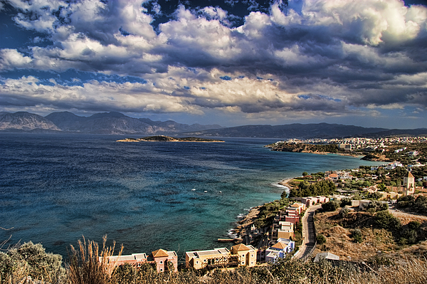 Crete Photograph - Scenic View Of Eastern Crete by David Smith