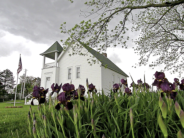 One Room School House Photograph - School House In The Country II by Christine Belt