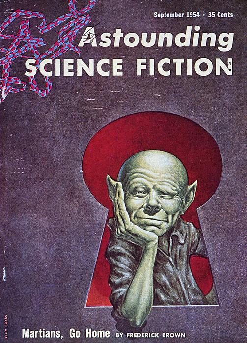 1954 Photograph - Science Fiction Cover, 1954 by Granger