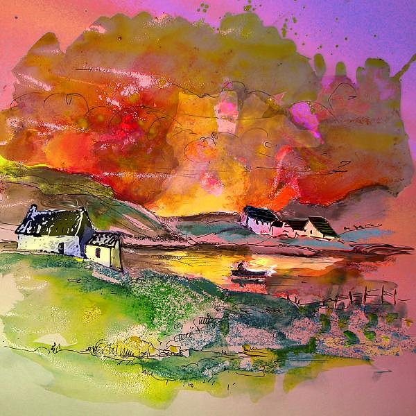 Scotland 07 Painting by Miki De Goodaboom