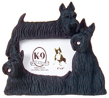 Dog Sculpture - Scotties by Maria Combess