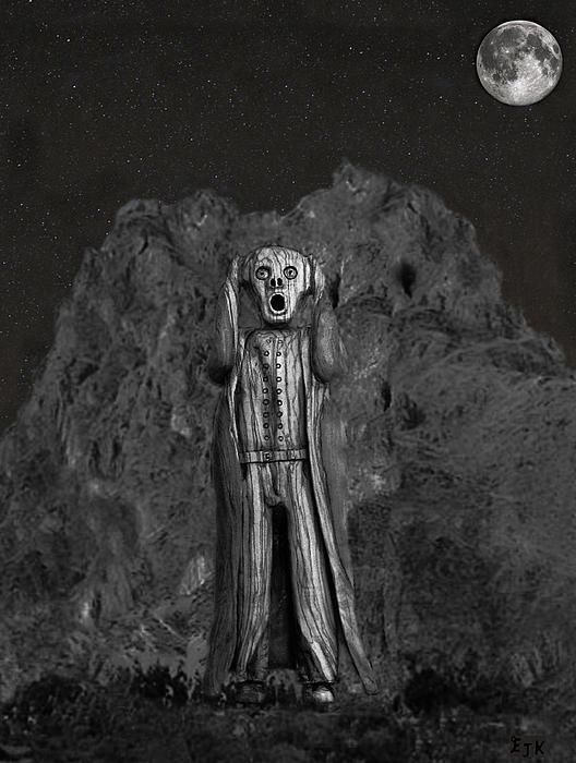 Scream World Tour Mixed Media - Scream Rock by Eric Kempson