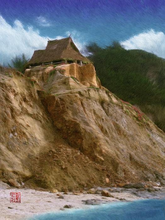Seaside Painting - Seacliff House by Geoffrey C Lewis