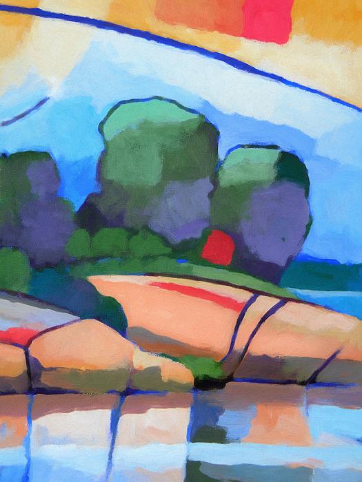 Seascape Painting - Seascape IIi by Lutz Baar
