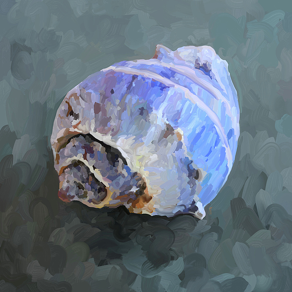 Sea Shell Painting - Seashell IIi by Jai Johnson