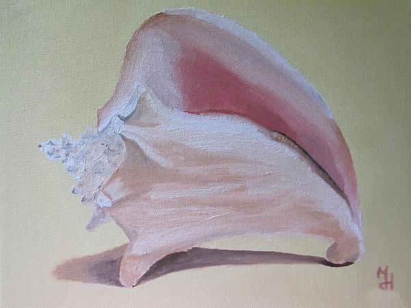Seashell Painting - Seashell by Michael Holmes