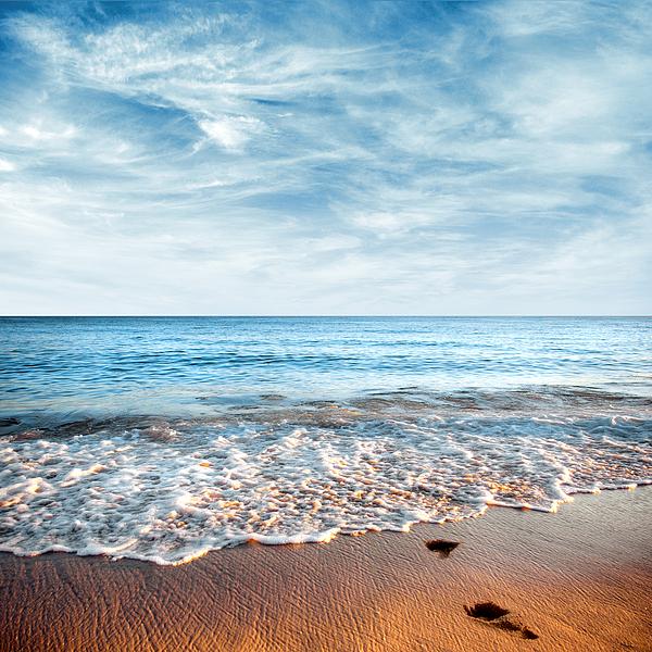 Background Photograph - Seashore by Carlos Caetano