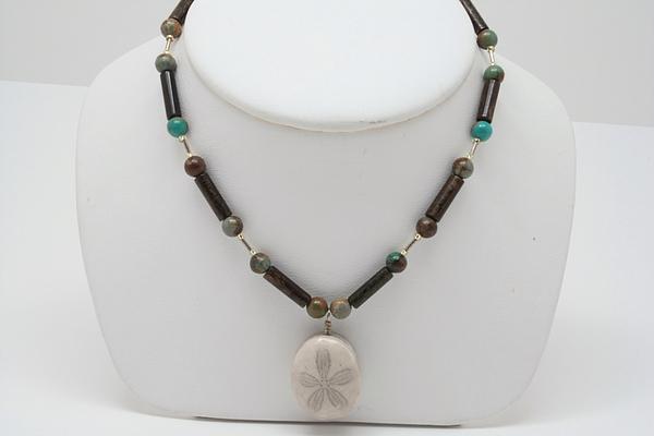 Jewelry Jewelry - Seaside Sand Dollar by Jerri Nielsen