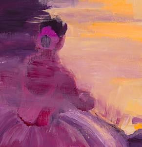Seated Ballerina Painting - Seated Ballerina by Sheilah Yearwood