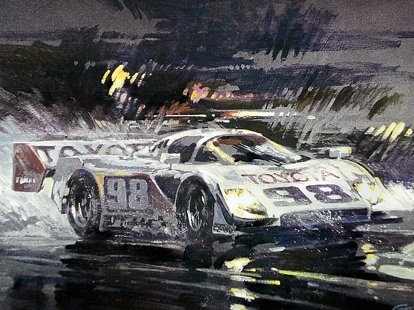 Sebring 12 Hour Painting by Don Getz
